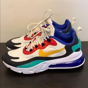 """Nike Air Max 270 React """"Bauhaus Art"""" Shoe"""
